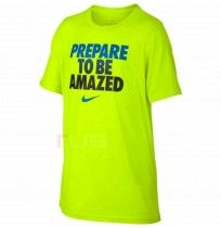 ДЕТСКА ТЕНИСКА NIKE DRY LEG TEE TO BE AMAZED VOLT