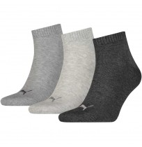 ЧОРАПИ PUMA UNISEX QUARTER PLA SOCK GRAY