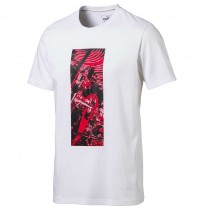 МЪЖКА ТЕНИСКА PUMA FERRARI GRAPHIC TEE WHITE