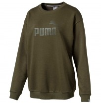 ДАМСКА БЛУЗА PUMA ESS NO.1 CREW SWEAT TR W OLIVE