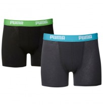 ДЕТСКИ БОКСЕР PUMA BASIC BOXER 2P BLUE/GREY