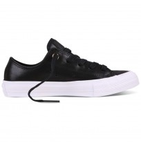 ДАМСКИ КЕЦОВЕ CONVERSE CHUCK II CRAFT LEATHER BLACK