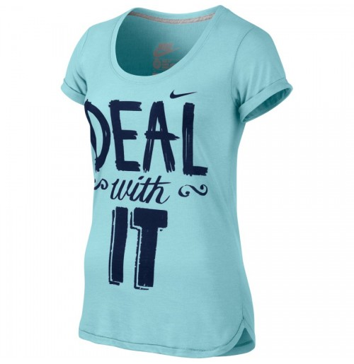 ТЕНИСКА NIKE DEAL WITH IT SCOOP NECK T-SHIR