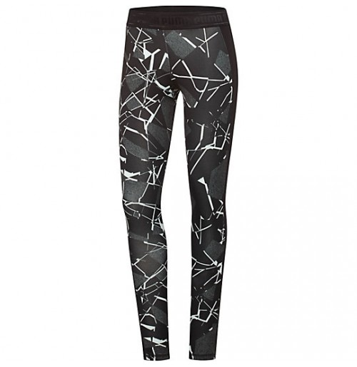КЛИН PUMA PRINTED LEGGINGS TIGHT PANTS