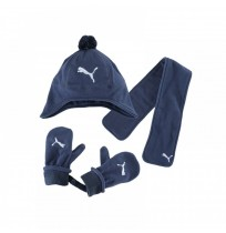 ЗИМЕН СЕТ PUMA MINICATS FLEECE SET  DENIM